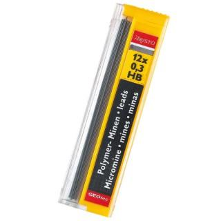ARISTO Bleiminen Hi-Polymer 12 Stück 0,3 mm HB