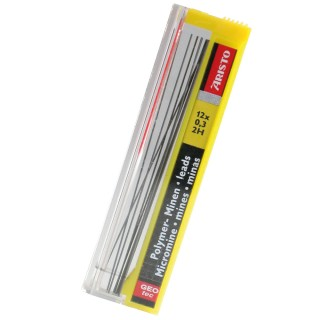 ARISTO Bleiminen Hi-Polymer 12 STück 0,3 mm 2H