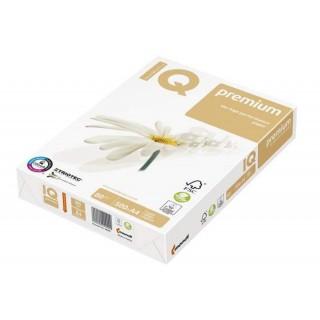 IQ Premium A4 80 g/m² 4x gelocht  500 Blatt weiß