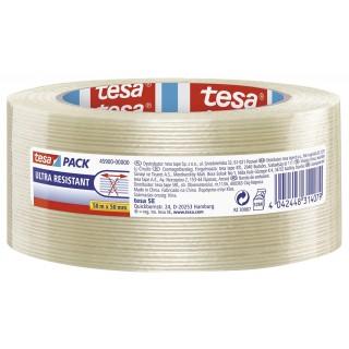 TESA Verpackungsband Monofilament 45900 50 mm x 50 m transparent