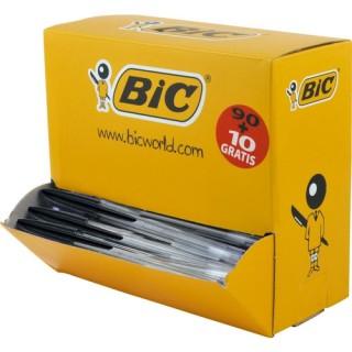 BIC Kugelschreiber Cristal Original Vorteilspackung 90+10 schwarz