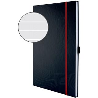 AVERY ZWECKFORM Notizbuch notizio 7028 mit Hardcover DIN A4 80 Blatt 90g/m² liniert dunkelgrau