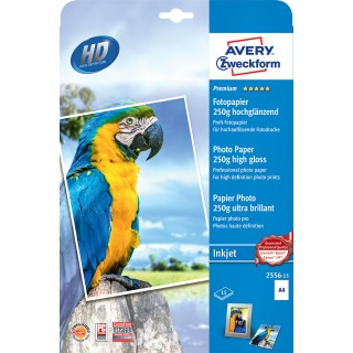 AVERY ZWECKFORM Premium Fotopapier 2556-15 A4 250 g/m² 2 x 15 Blatt