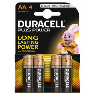 DURACELL Plus Power Batterien AA 4 Stück