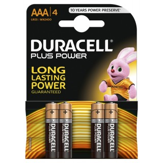 DURACELL Plus Power Batterien AAA 4 Stück
