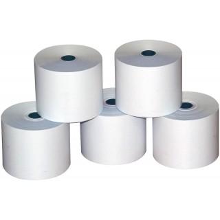 OMEGA Additionsrollen 10 Rollen 70 x 70 x 12 mm 45 Meter weiß
