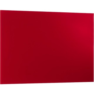 ALCO Magnetische Glastafel 40 x 60 cm rot