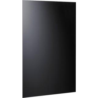 ALCO Magnetische Glastafel 100 x 65 cm schwarz