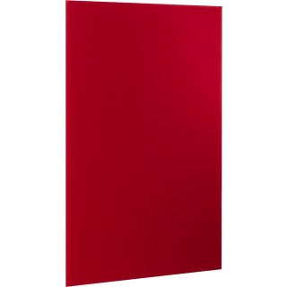 ALCO Magnetische Glastafel 100 x 65 cm rot