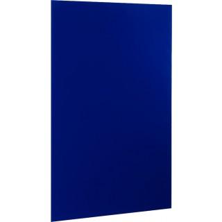ALCO Magnetische Glastafel 100 x 65 cm blau