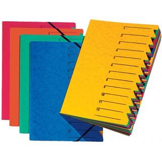 PAGNA Easy Ordnungsmappe A4 12-teilig gelb