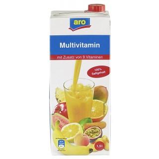 ARO Multivitaminsaft 100% 1,5 Liter