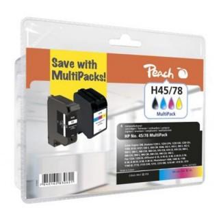 PEACH Tinte HP Nr.45/Nr.78 Multipack PI300-132