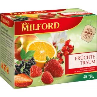 "MILFORD Tee ""Früchtetraum"" 40 Stück"
