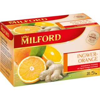 "MILFORD Tee ""Ingwer-Orange"" 20 Stück"