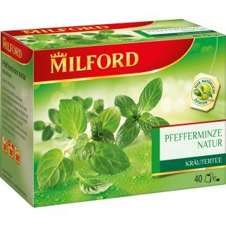"MILFORD Tee ""Pfefferminze Natur"" 40 Stück"