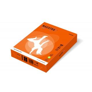 MAESTRO Color intensiv Kopierpapier A4 80 g/m² 500 Blatt orange