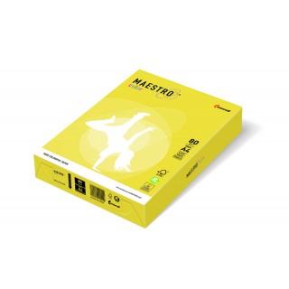 MAESTRO Color intensiv Kopierpapier A4 80 g/m² 500 Blatt kanariengelb