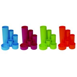 M&M Stifteköcher 6 Röhren sortiert
