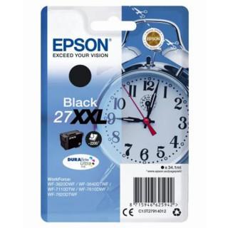 EPSON Tintenpatrone DuraBrite Nr. 27XXL schwarz
