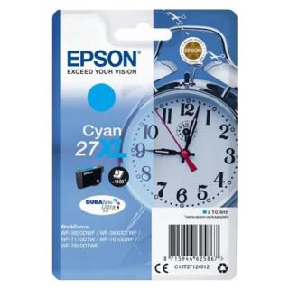 EPSON Tintenpatrone DuraBrite Nr. 27XL cyan