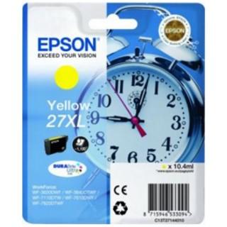 EPSON Tintenpatrone DuraBrite Nr. 27XL gelb