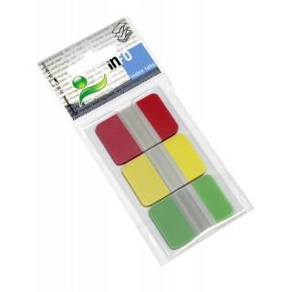 INFO NOTES Indexstreifen 2,5 x 3,8 cm 3 Stück à 25 Blatt mehrere Farben