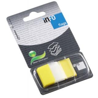 INFO NOTES Indexstreifen 2,5 x 4,3 cm 50 Blatt gelb