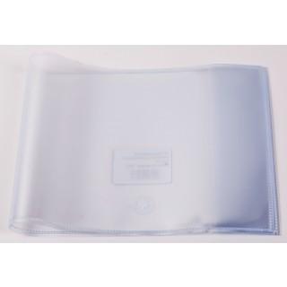 Heftschoner A5 quer 150 µm transparent
