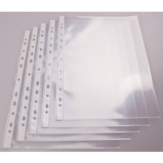 Klarsichthülle A4 glatt 50 µm 100 Stück transparent