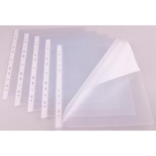 Klarsichthülle A4 seitlich offen 150 µm 100 Stück transparent