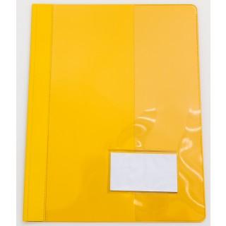 Schnellhefter 5 Stück A4 breit gelb