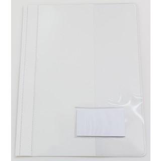 Schnellhefter A4 PVC 5 Stück weiß