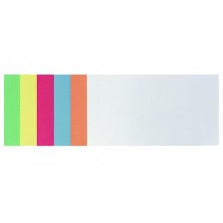 FRANKEN Moderationskarten selbstklebend 205 x 95 mm sortiert
