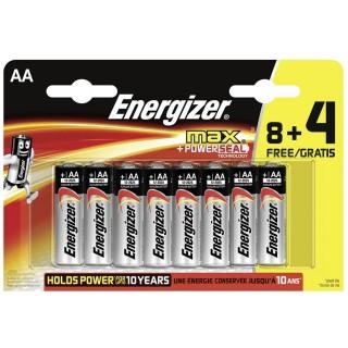 ENERGIZER Batterie Max LR06 AA 12 Stück