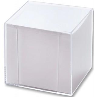 FOLIA Zettelbox gefüllt 700 Blatt weiß