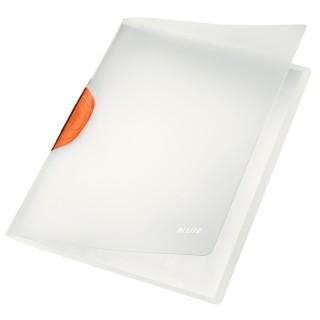 LEITZ Klemmmappe ColorClip Magic 30 Blatt orange