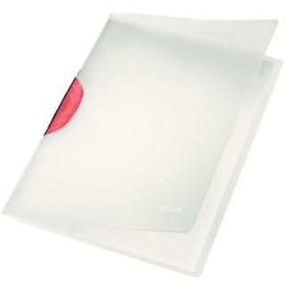 LEITZ Klemmmappe ColorClip Magic 30 Blatt rot