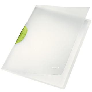 LEITZ Klemmmappe ColorClip Magic 30 Blatt dunkelgrün