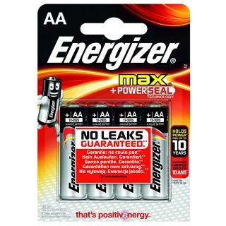 ENERGIZER Batterie Max LR06 AA 4 Stück