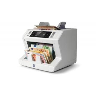 SAFESCAN 2665-S Banknotenzähler für nicht-sortierte Banknoten grau