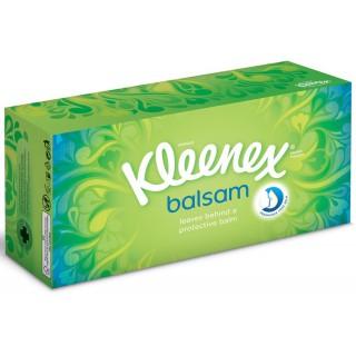 """KLEENEX Taschentücher Box """"Balsam"""" 60 Stück grün"""