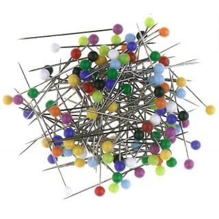 ALCO Glaskopfstecknadeln 628 80 Stück mehrere Farben