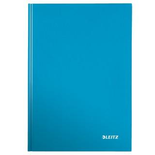 LEITZ Notizbuch WOW A5 80 Blatt kariert blau