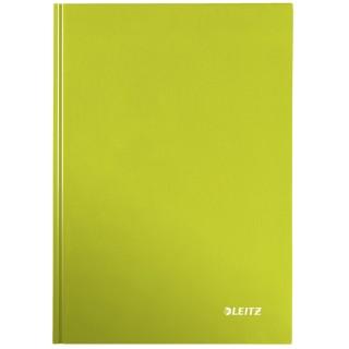 LEITZ Notizbuch WOW A5 80 Blatt kariert grün