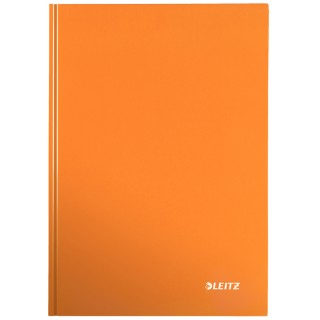 LEITZ Notizbuch WOW A5 80 Blatt kariert orange