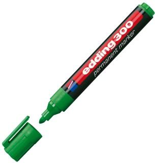 EDDING Permanentmarker 300 mit Rundspitze 1,5-3 mm grün