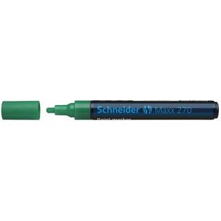 SCHNEIDER Lackmarker Maxx 270 Rundspitze 1-3 mm grün