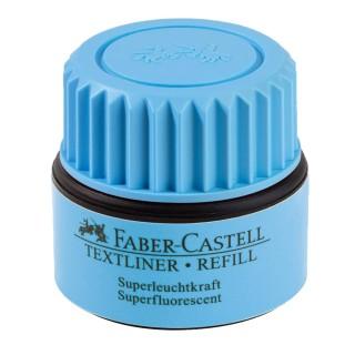 FABER CASTELL Nachfüllung  für Textmarker 30 ml blau