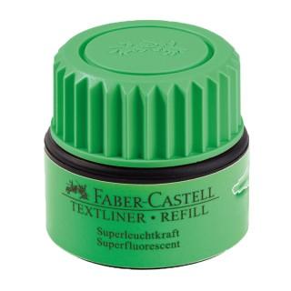 FABER CASTELL Nachfüllung  für Textmarker 30 ml grün